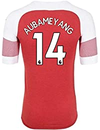 2018-2019 Arsenal Puma Home Football Soccer T-Shirt Camiseta (Pierre Emerick Aubameyang