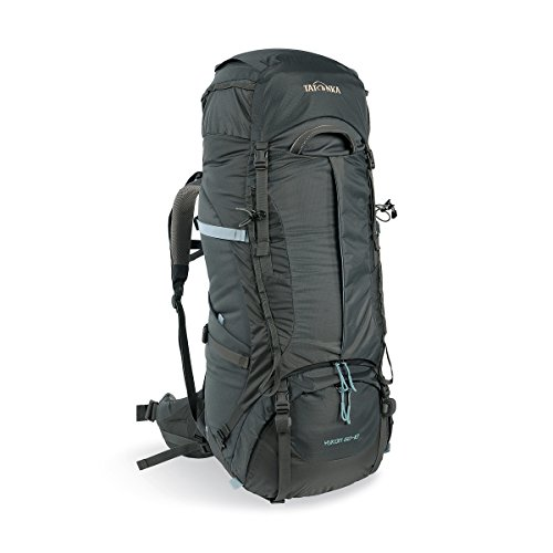 Rucksack Backpacker Womens (Tatonka Damen Yukon 60+10 Women Rucksack, Titan Grey, 74 x 30 x 24 cm)