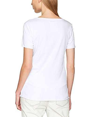 Boss Orange Tishirt, T-Shirt Femme Blanc (White 100)