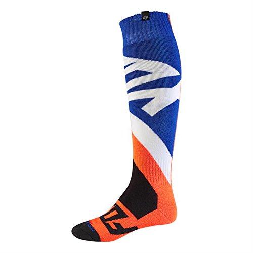 Fox 2017 Herren Motocross / MTB Socken - CREO COOLMAX THICK - orange: Größe Socken: L