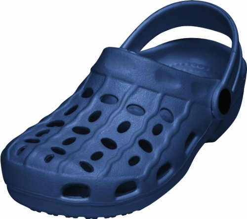 Playshoes Playshoes EVA-Clog 171727, Unisex-Kinder Clogs & Pantoletten, Blau (marine 11), EU 34/35