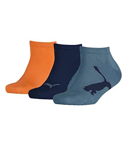 Puma Kinder Lifestyle Sneaker Sportsocken Kurzsocken Kids 204202001 6 Paar, Menge:6 Paar (2x 3er Pack), Sockengröße:35/38, Artikel:-198 dress blues