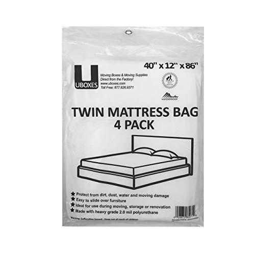 4Twin Size Matratzenbezüge 101,6x 30,5x 218,4cm 2Stück für BOX SPRING & Matratze -