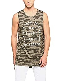 ABOF Men's Printed Regular Fit T-Shirt