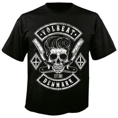 Uomo Volbeat - T-Shirt con razor blade nero Medium