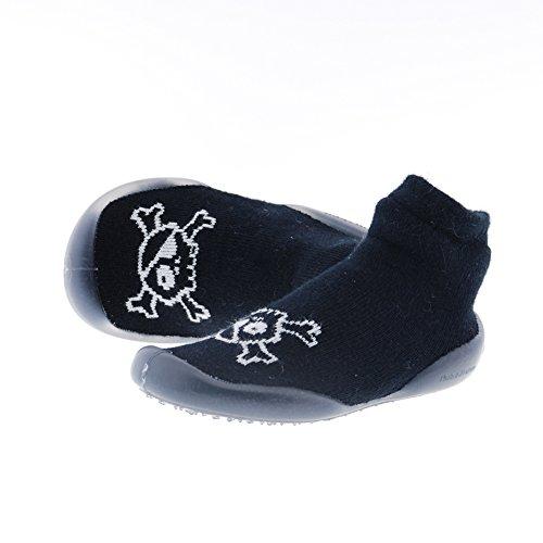 Zapatos Niño Zapatillas Casa Collegien Nu-nu-nu 4818c Negro 24I25