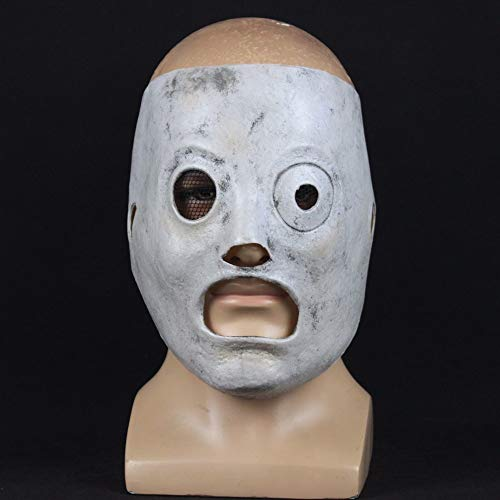 Corey Taylor Leader Sänger Cosplay Tv Slipknot Latex Dj Masken Halloween Party Requisiten ()