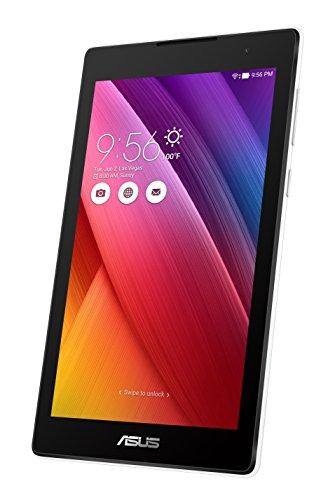 Asus ZenPad C 7.0 Z170CG-1B030A Tablet con Funzione Telefono, Processore Intel Quad Core, 16 GB, Dual SIM, Android 5.0, Bianco