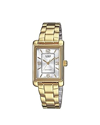 Casio LTP-1234PG-7AEF - Reloj de cuarzo para mujer, con correa de acero inoxidable, color 0