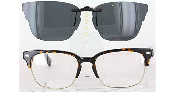 fd14b6905ebca WARBY PARKER AMES-3200-54X18 POLARIZED CLIP-ON SUNGLASSES (Frame NOT  Included)  Amazon.co.uk  Health   Personal Care