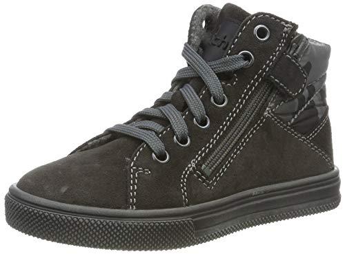 Richter Kinderschuhe Jungen Ola Hohe Sneaker, Grau (Steel 6501), 33 EU