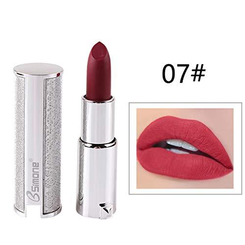 Maquillage cosmétique de beauté de rouge à lèvres d'argent de crème hydratante de rouge à lèvres d'argent