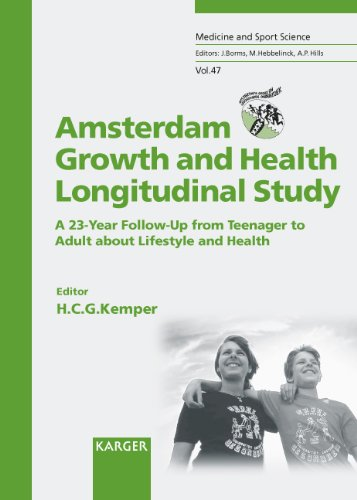 Amsterdam Growth and Health Longitudinal Study (AGAHLS): A 23-Year Follow-Up from Teenager to Adult about Lifestyle and Health. (Medicine and Sport Science)