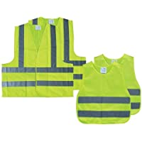 AA Family High Visibility Vest Pack - Yellow