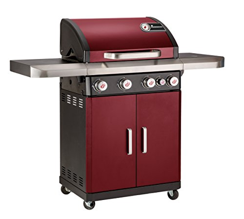 Landmann Barbecues Rexon 4 Burner Gas Barbecue - Red