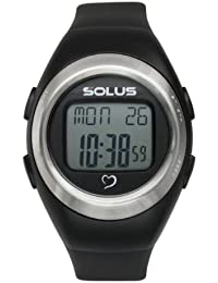 Solus Unisex Digital Watch with LCD Dial Digital Display and Black Plastic or PU Strap SL-800-201