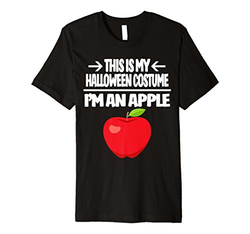Apple Halloween-Kostüm Tshirt–Männer Frauen Jugend Größen
