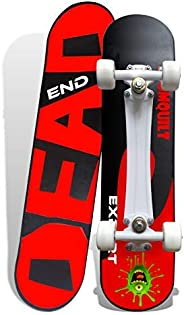 """Jaspo Experts 27""""x6.5"""" Anti Skid Skateboard with Grip Tape and"""