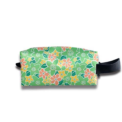 Blossom Flowers Everywhere_6700 Tragbare Reise-Make-up-Kosmetiktaschen Organizer Multifunktions-Tasche Taschen für Unisex -