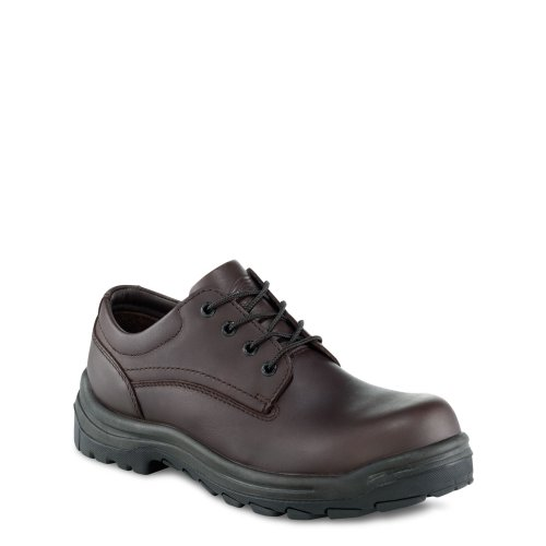 Red Wing 3237 Mens Oxford Waterproof Non Metalic Safety Shoe brown