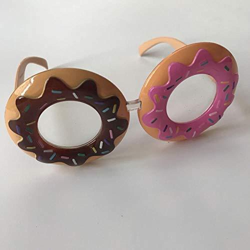 Kreative dekorative Gläser Personalisierte süße Donut-Gläser Bar Requisiten Prom Performance Foto Geburtstagsfeier Sonnenbrille