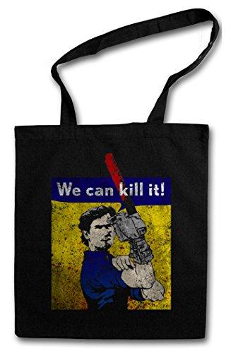 Urban Backwoods WE CAN Kill IT! Hipster Bag Beutel Stofftasche Einkaufstasche