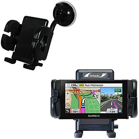 Alloggiamento per Parabrezza Auto per Garmin nuvi 2669 / 2689 LMT Alloggiamento Auto Flessibile con Ventosa per Auto con Garanzia a Vita