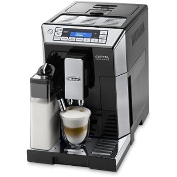 DeLonghi ECAM 45.366.B One Touch LatteCrema Kaffee-Vollautomat Eletta Cappuccino (Milchbehälter) schwarz