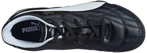 Puma Classico Tt Jr, Chaussures de football mixte enfant Noir (Black 01)