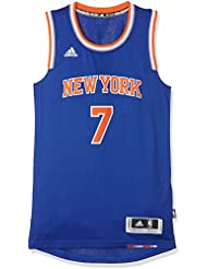 Adidas - Maillot floqué du dossard New York Knicks pour homme