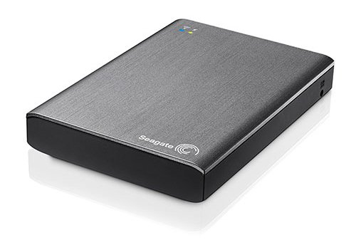 Seagate Wireless Plus 1TB Portable External Hard Drive for Mobile (Gray)