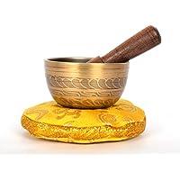 Tibetische Muladhara Chakra Meditation Singing Bowl Set für heilendes Gebet, Yoga mit Schläger & Kissen (TH-SING... preisvergleich bei billige-tabletten.eu