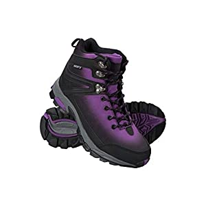 416oLqexI0L. SS300  - Mountain Warehouse Intrepid Womens Waterproof Softshell Hiking Boots - Phylon Midsole, Mesh Lined Shoes, Rubber Outsole -Ladies Footwear for Walking, Camping, Travelling