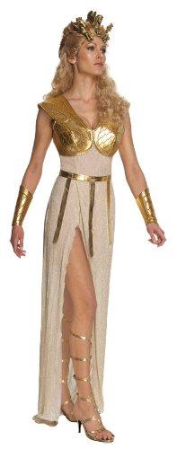 Kampf der Titanen Athena Kostüm für Damen, (Erwachsene Göttin Ruby Kostüme)