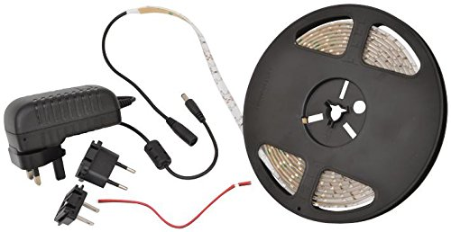 QTX Licht 153.724uk LED Tape Kit 5M Warm Weiß (3100K) [1] Pro-Serie (steht überprüft)