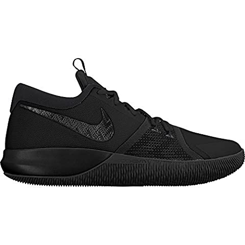 Nike Mens Zoom Assersion Black/Black/Anthracite Basketball Shoes (11.5 D(M)