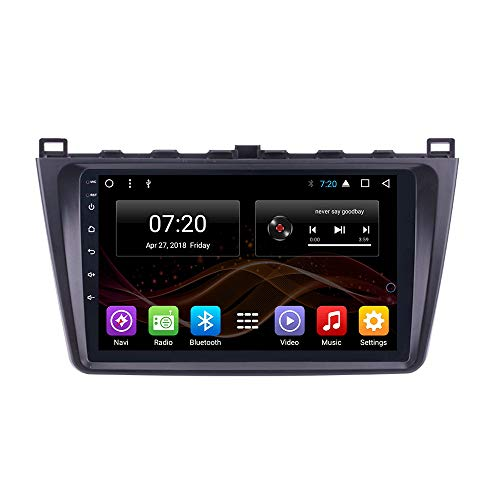 Android 8.1 Car DVD Radio GPS Navigation for Mazda 6 Summit Rui Wing 2008-2015 Stereo Audio Navi Video with Bluetooth Calling WiFi (Android8.1 1+16G for Mazda 6 Rui Wing 08-15) -