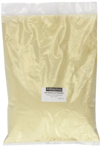 JustIngredients Tragantwurzel Pulver, Astragalus Root Powder, 1er Pack (1 x 1 kg)