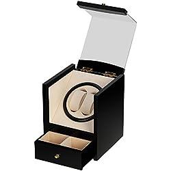 Caja giratoria para Relojes automatico Watch Winder Madera de Reloj de Pulsera
