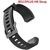Najiny ID115 plus hr Replacement Straps - Replacement Band for ID115hr Plus Fitness Tracker Adjustable Length (Black)