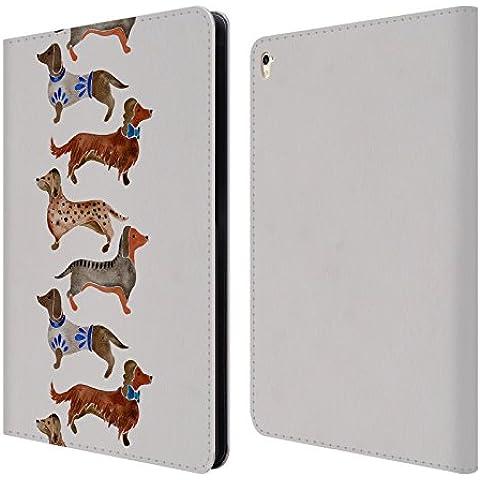 Ufficiale Cat Coquillette Bassotti Animali Cover a portafoglio in pelle per Apple iPad Pro 9.7