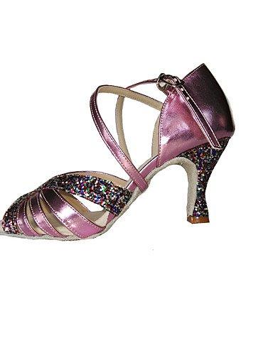 La mode moderne Non Sandales Chaussures de danse pour femmes personnalisables /similicuir Glitter mousseux Amérique/Swing chaussures sandales/talons US8.5/EU39/UK6.5/CN40