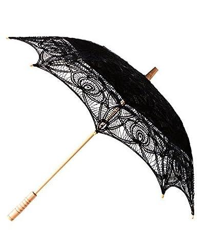 The 1 for U Victorian Style Battenburg Lace Parasol -