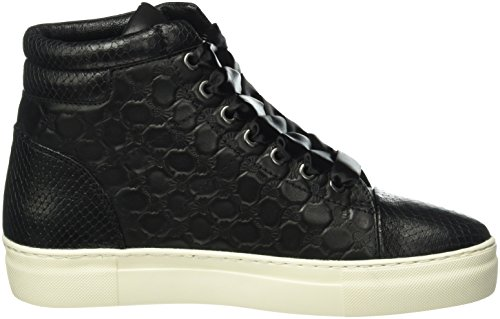 Joop! - Daphne High Sneaker I Soft Leather, Scarpe da ginnastica Donna Nero (Nero (900))
