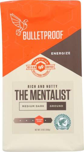 Bulletproof Upgraded 12 oz Coffee (The Mentalist Dark Roast Ground)