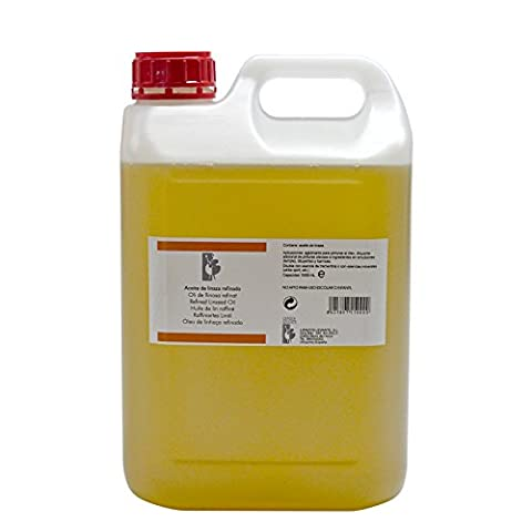 Lienzos Levante 0310147001 - Refined linseed oil in 5000 ml bottle