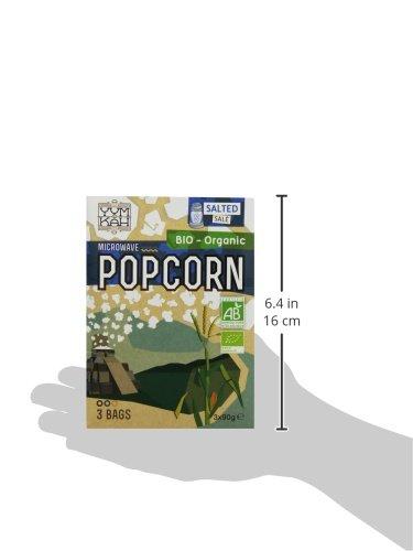 Yum Kah BIO Popcorn für die Mikrowelle salzig, glutenfrei - 7