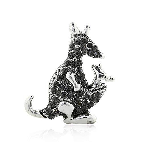 Schnellverkauf Ebay Neue heiße Europa und die Vereinigten Staaten Retro ModeLegierung Set Diamant Känguru Brosche Kleidung Kleidung Zubehör Spot