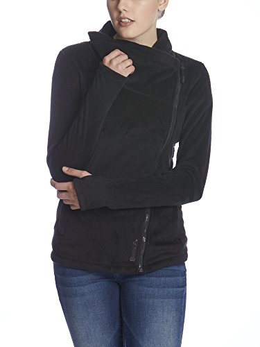 Bench Damen Strickjacke RISKRUNNER B, Gr. X-Large, Schwarz (Black BK014) (Kapuzen-fleece-weste)
