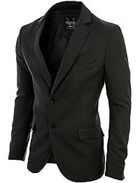 MODERNO - Slim Fit Business Herren Sakko Blazer (MOD14514B)